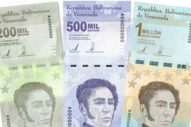 Venezuela lanza billete de 1 millón de Bolívares 1