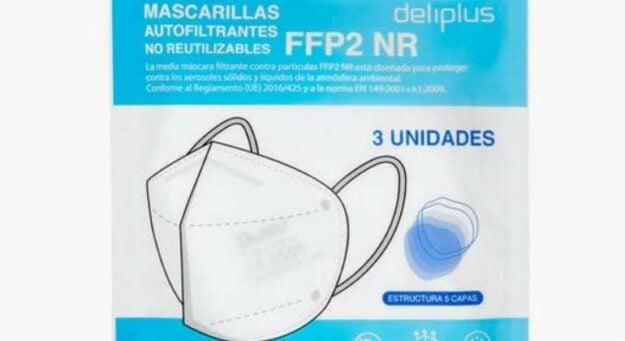 Mercadona saca a la venta sus mascarillas FFP2 a un precio irresistible 1