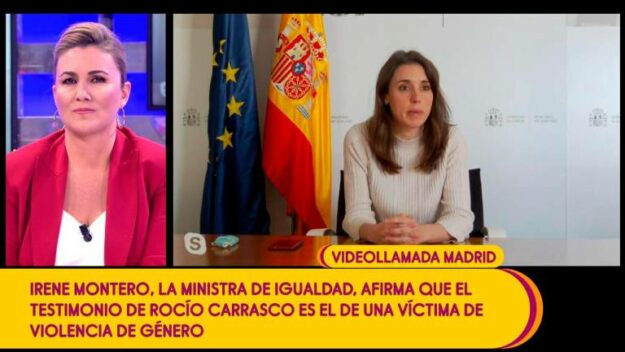 """Irene Montero aparece en """"Sálvame"""" para defender a Rocío Carrasco 1"""