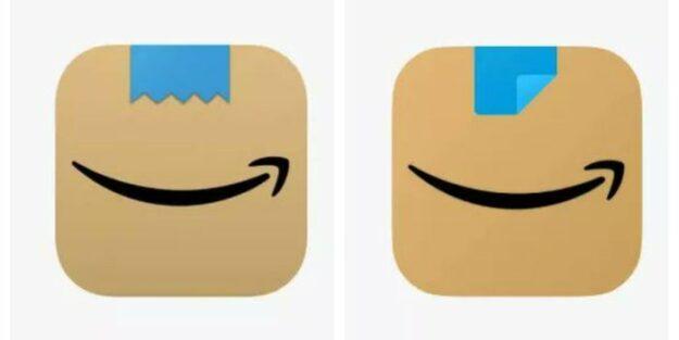 Amazon cambia su logo porque parecía la cara de Hitler 1
