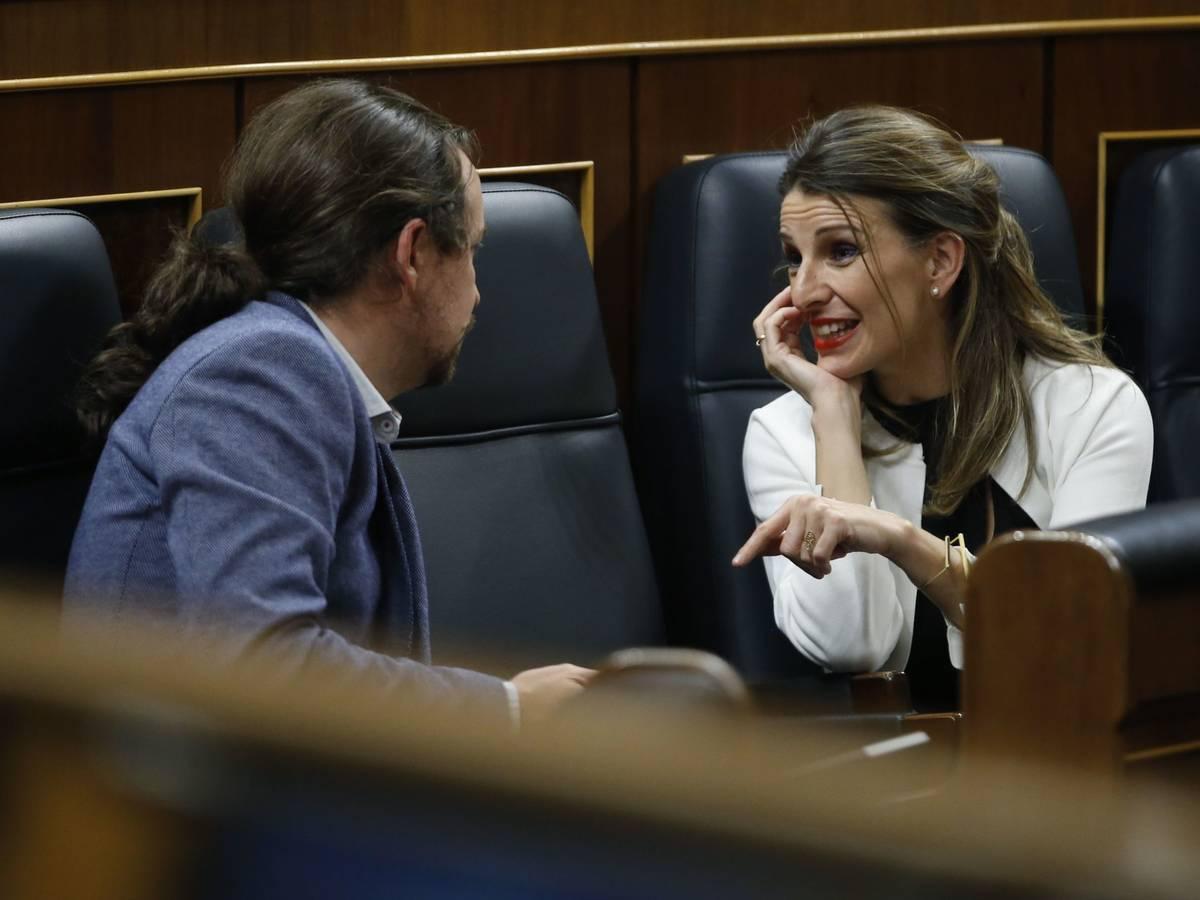 """Yolanda Diaz dice que España es el país """"más avanzado"""" de Europa en el plan de recuperación 1"""