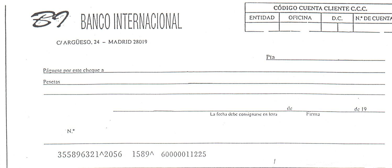Cheque en blanco 1