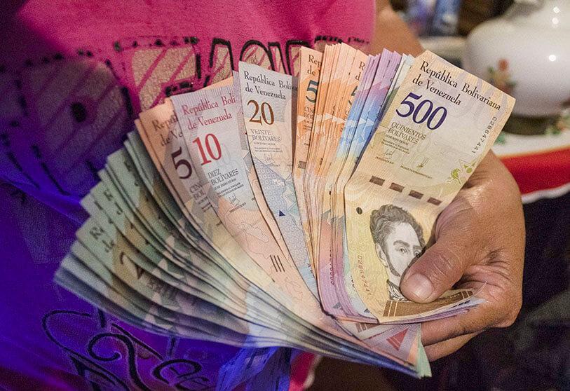 La inflación interanual de Venezuela cerró abril con un nivel del 2.840% 1