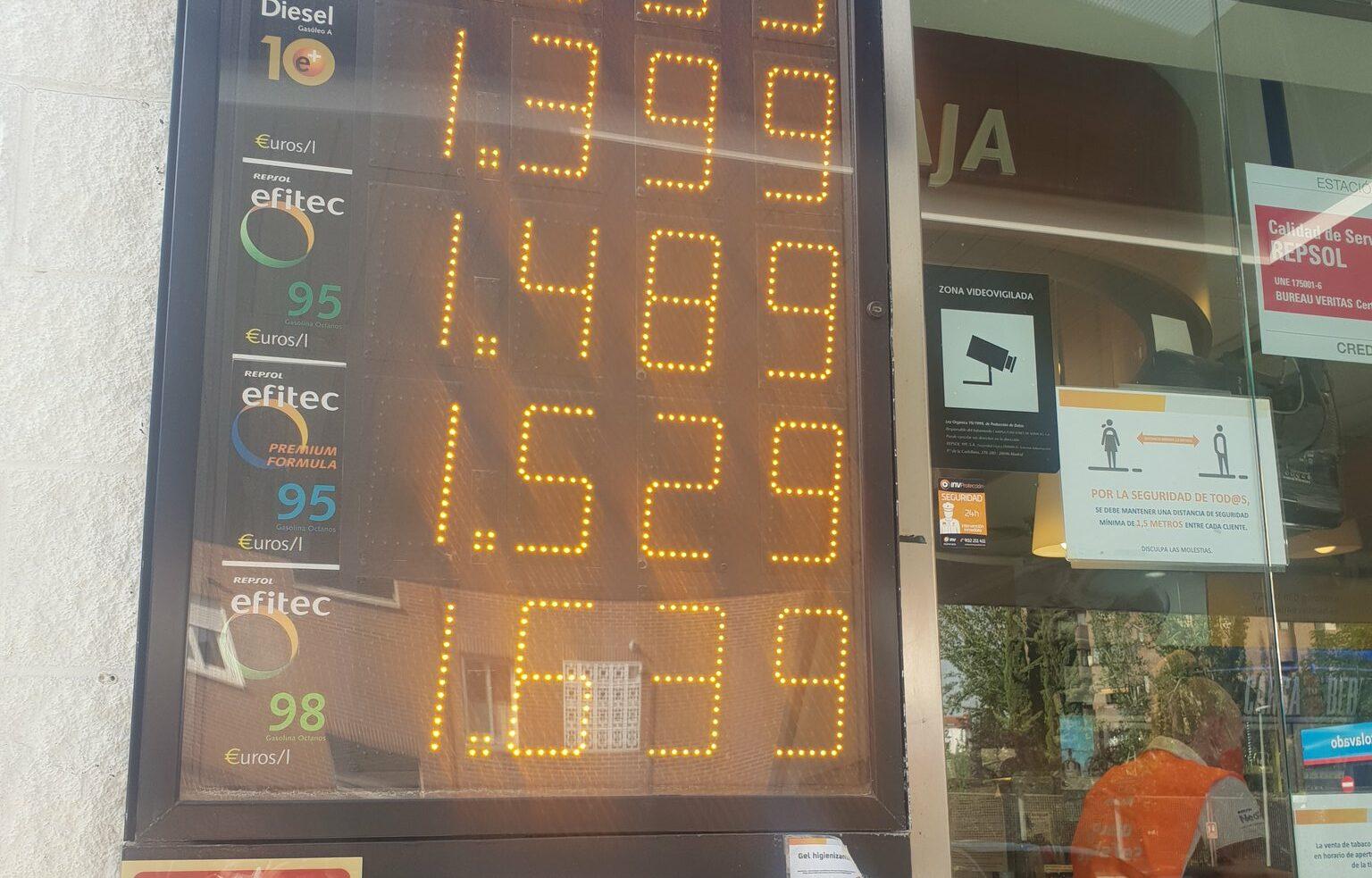 La gasolina se dispara casi un 15% en lo que va de año y remonta a máximos de 2014 1