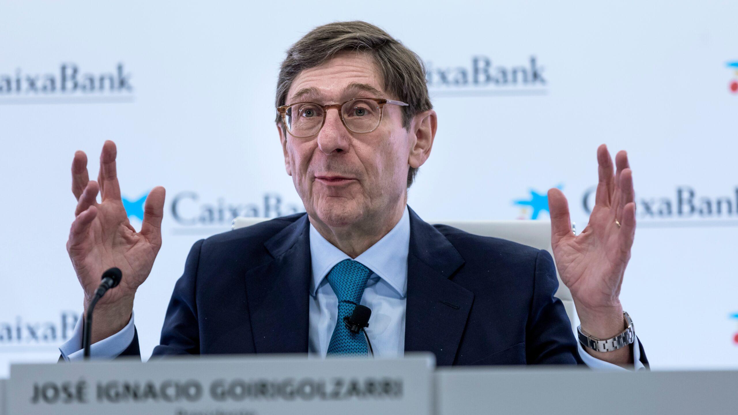 El presidente de Caixabank prevé una subida de tipos en breve 1